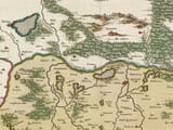 Detail from Old Map of Southern Poland