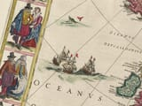 Early map of Europe - detail