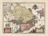 Old Map of Finland