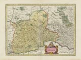 Old Map of Bavaria