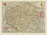 Old Map Czechoslovakia