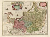 Old Map of Prussia