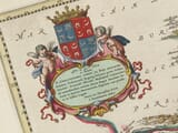 Detail from an old Map of Western Poland