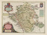 Old Map of Western Poland