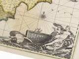 Detail from an Old Map of Cyprus