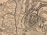 Old town plan of Durham