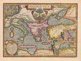 Old Map of Argonautic Empire