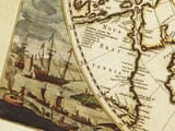 Old Map North Pole detail