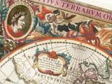 Henricus Hondius Detail from World Map