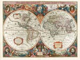 Henricus Hondius Map