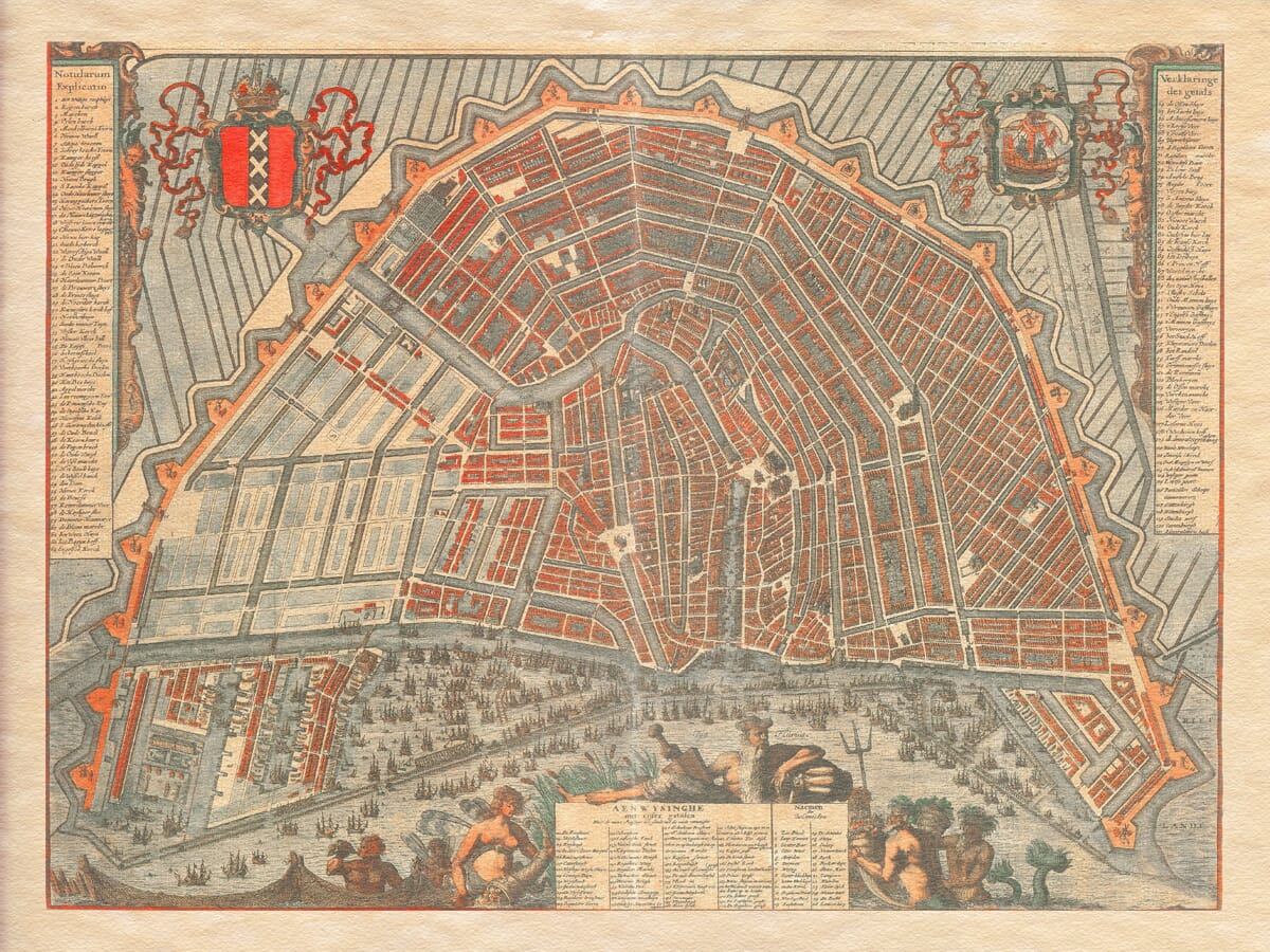 Amsterdam Map 1692