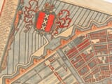 Amsterdam Map 1692 detail