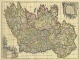 Antique Map Ireland deWit