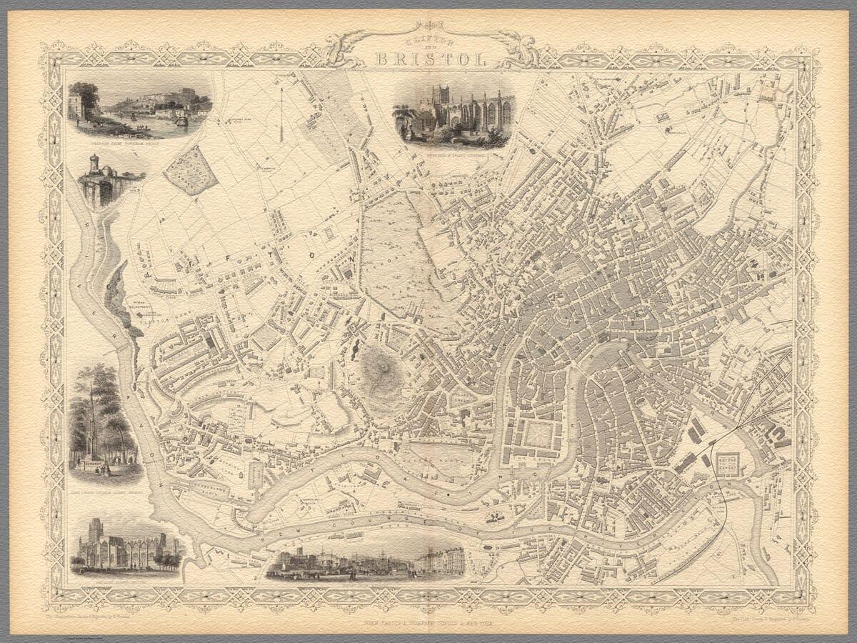 Bristol Tallis Map