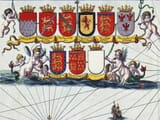 Missing Coat of Arms on old map