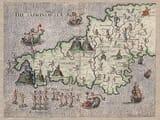 Early Cornish Map