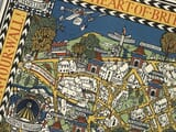 London Pictorial Map