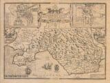 Old map Glamorganshire