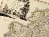 Ireland Beaufort Map Detail