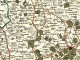 Cary Hertfordshire Map Detail