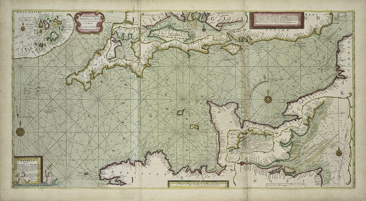 Nautical Chart English Channel