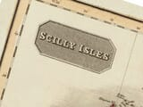 Map Isles of Scilly Detail