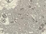 Old Milan Map Closeup