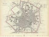 Old Map Milan