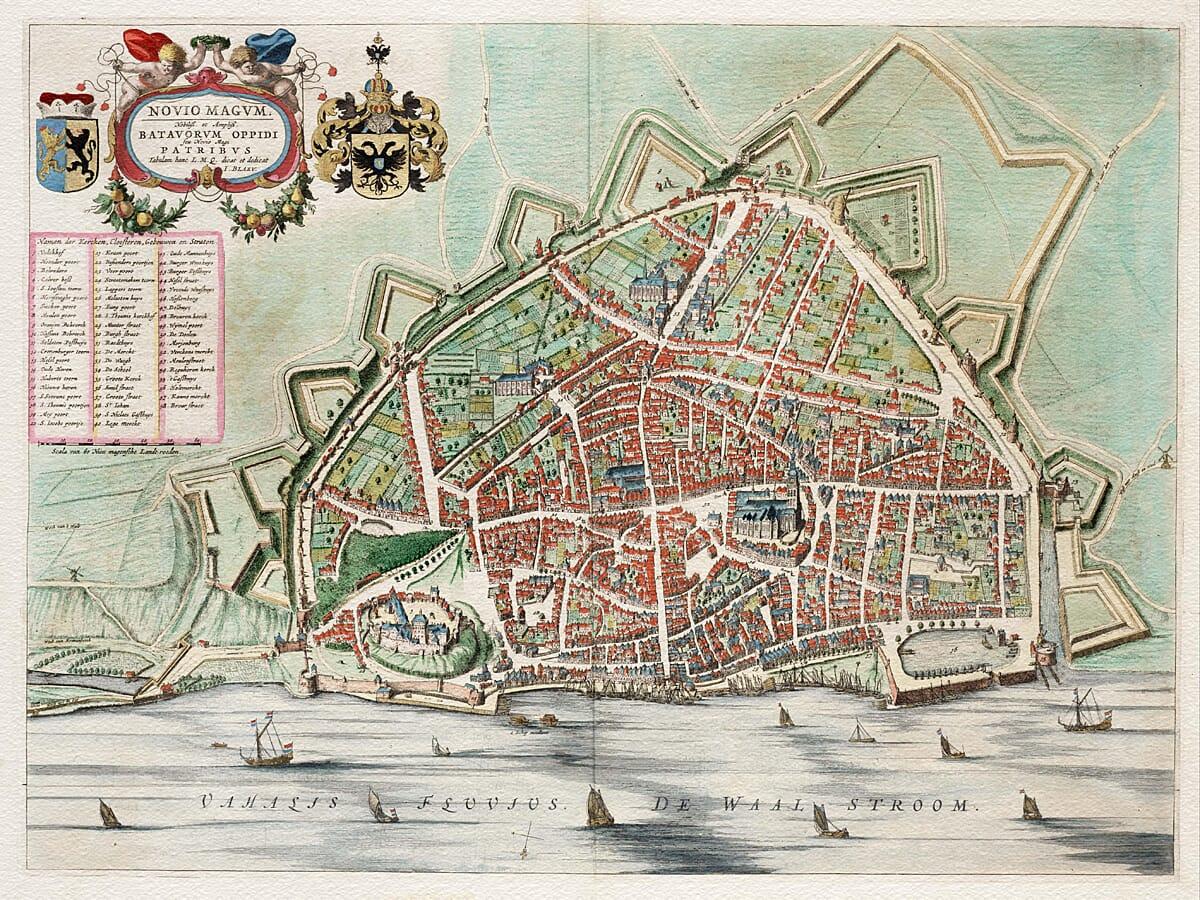 Nijmegen Map