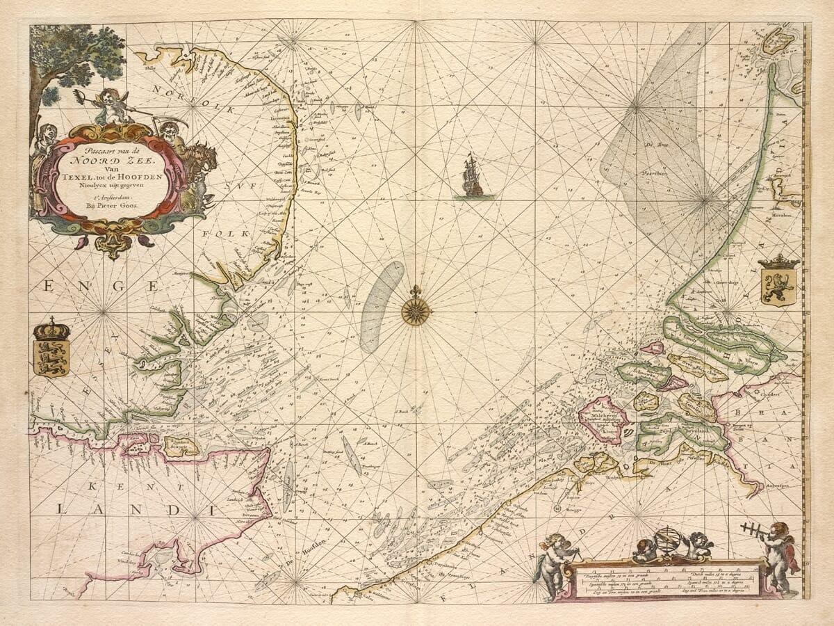 Northern Britain Norway Chart