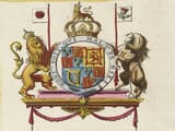Detail from an old map of Berkshire