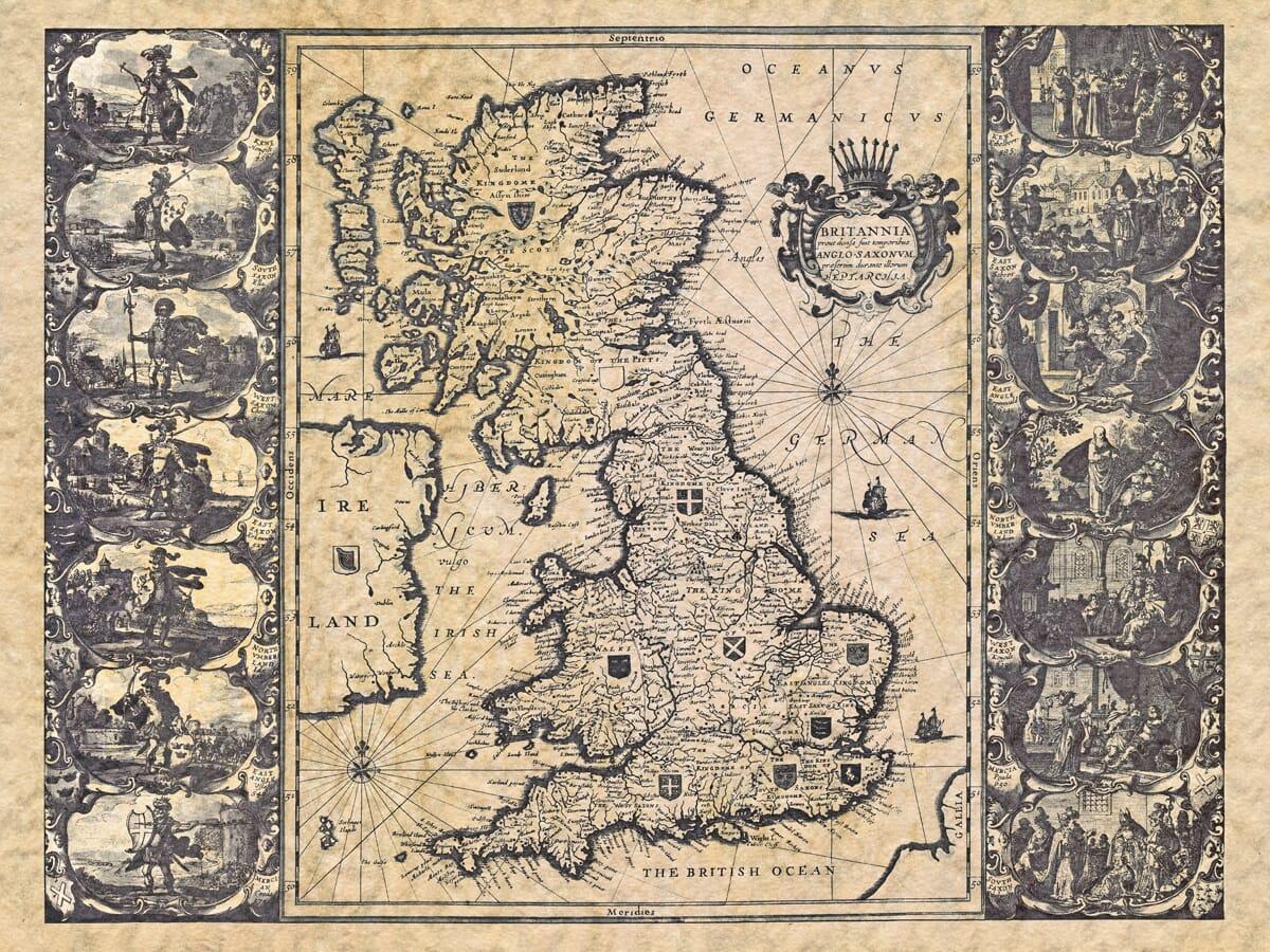Old Maps: Britannia