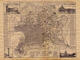 Old Map of Rome
