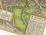 Oxford Town Plan Detail 2