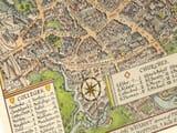 Oxford Town Plan Detail