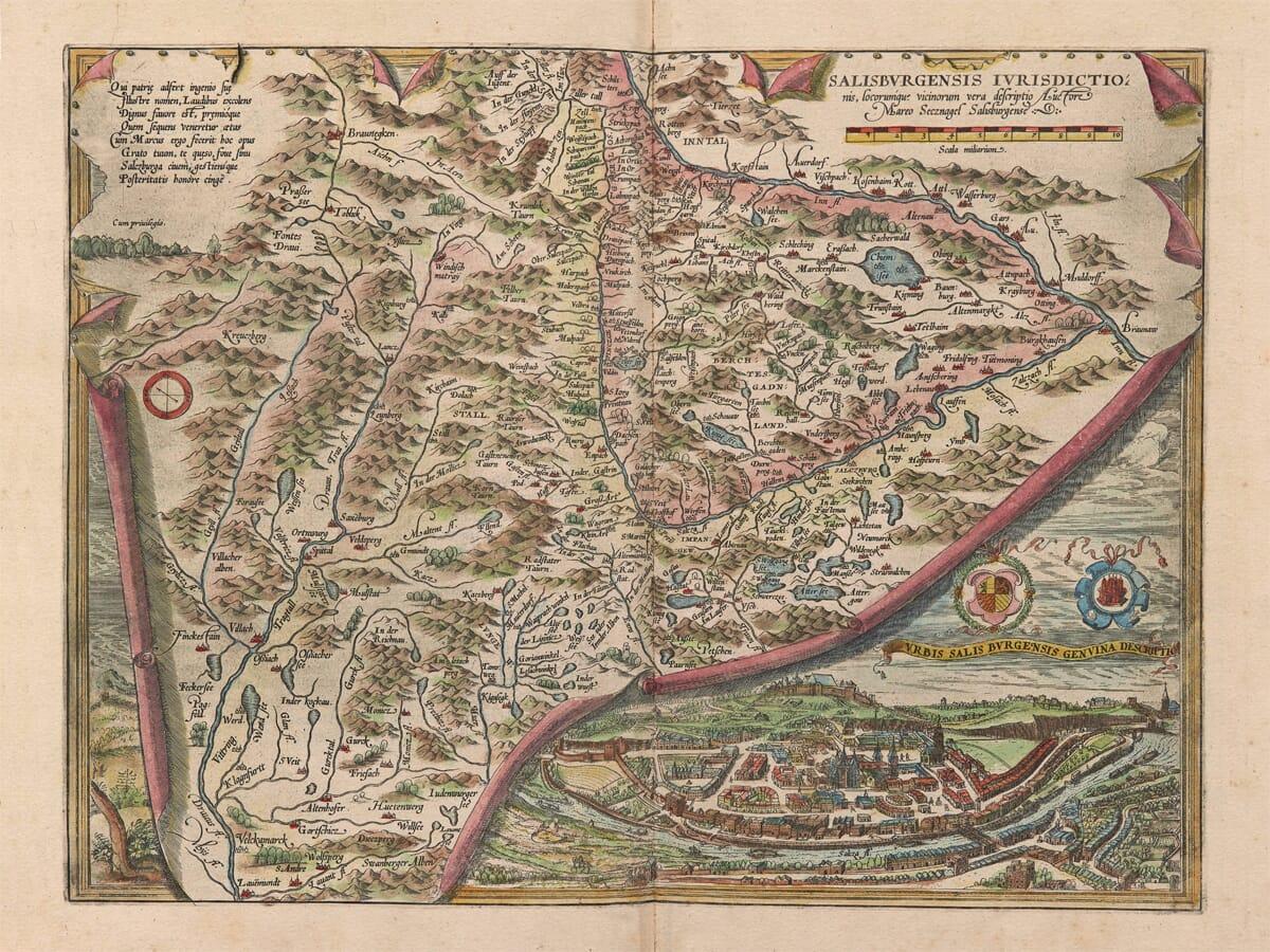 Saltzburg Old Map