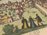 Old Seville Map Detail