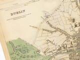 Town Plan Dublin Detail