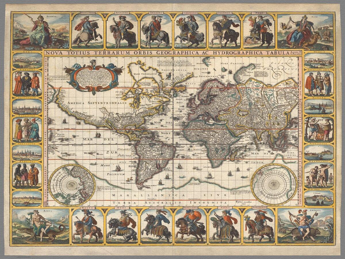 Visscher Map