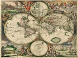 World Map of 1689