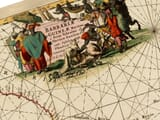 Antique Sea Chart Detail