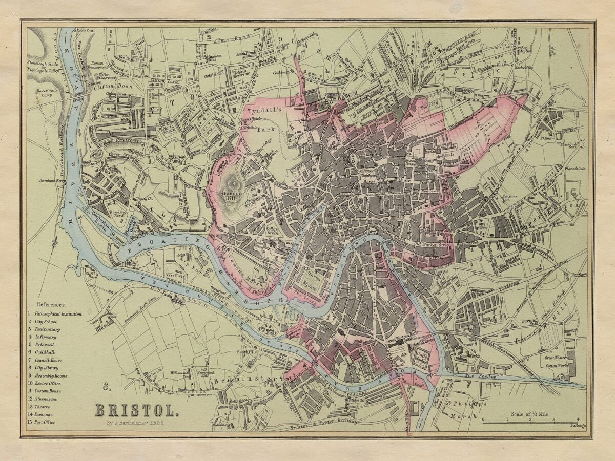 Bristol River Nautical Chart
