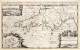 large old sea chart