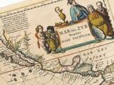 pacific sea chart detail
