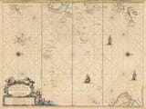pacific chart 1663
