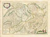 Blaeu Switzerland Map