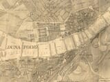 Old Budapest Map