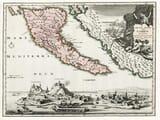 Old Corfu Map