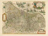 Early map of Germany