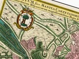 Old Madrid Map